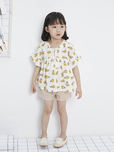 马沫含童装品牌2019春夏短袖时尚公主裙