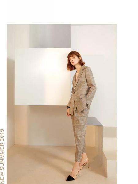 艺素女装品牌2019秋季新款韩版时尚气质名媛休闲西服套装