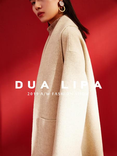 DUA LIPA女装品牌2019秋季新款 洋气时尚宽松翻领百搭外套