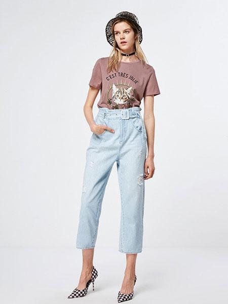 ONLY女装品牌2019春夏新款时尚休闲两件套