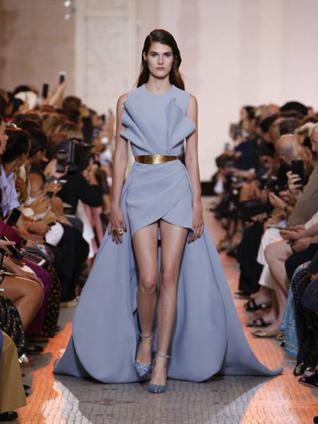 Elie Saab艾莉・萨博女装品牌2019春夏新款时尚优雅高贵修身显瘦长款晚礼服
