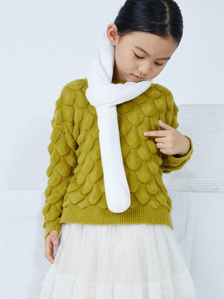 籽芽之家童装品牌2019秋冬洋气儿童时髦欧洲女童毛衣