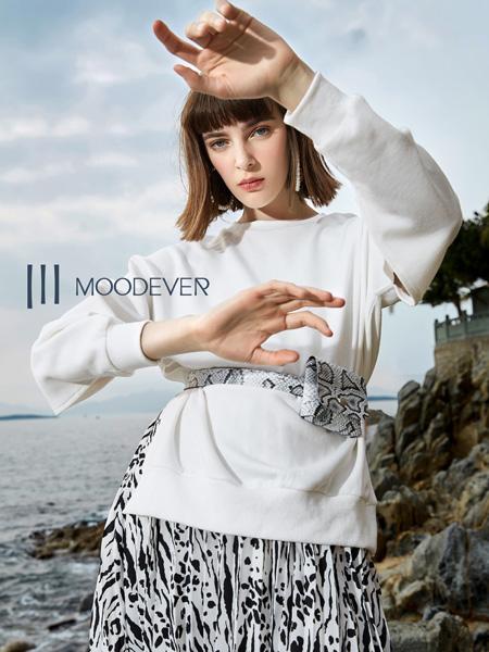 MOODEVER女装品牌2019秋季新款韩版时尚简约休闲百搭套装裙