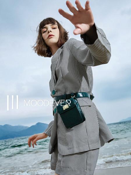 MOODEVER女装品牌2019秋季新款韩版气质时尚流行西服套装