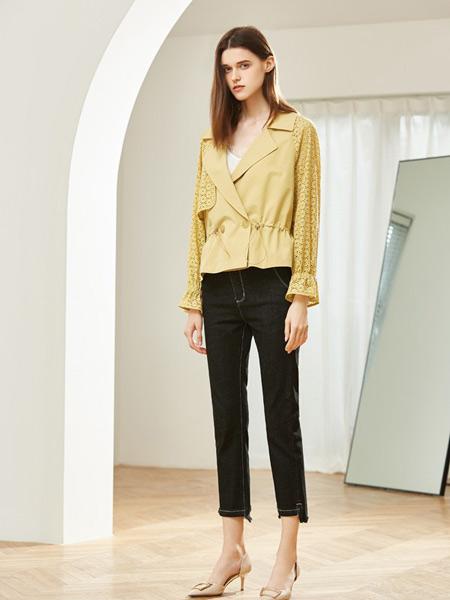 MSLE蜜偲莉尔女装品牌2019秋季新款韩版休闲百搭纯色简约外套上衣