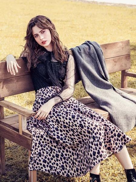 千细女装品牌2019秋冬新款时尚高腰显瘦半身裙