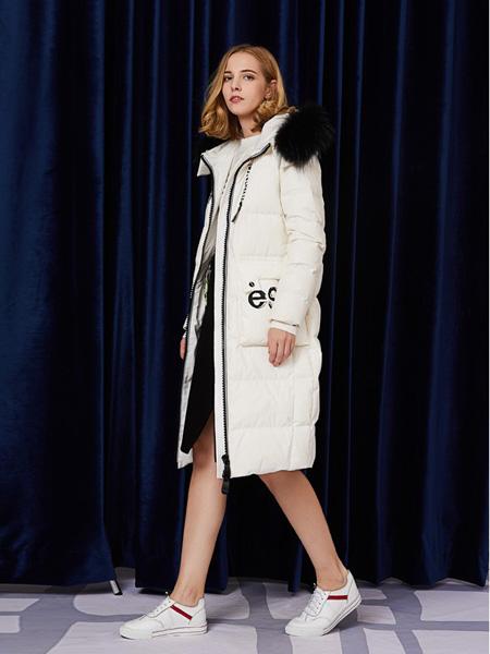 安姬曼女装品牌新款韩版气质修身显瘦中长款外套