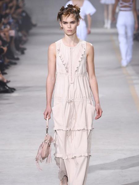 Diesel Black Gold迪赛黑金女装品牌新款时尚优雅气质休闲连衣裙