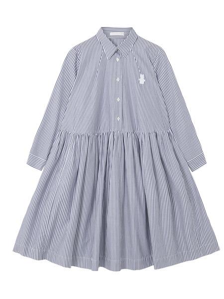 彼得・詹森女装品牌2019春夏新款韩版时尚休闲宽松连衣裙