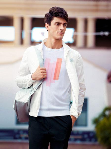 格度佐致男装品牌2019春夏新款韩版拼色上衣运动外套