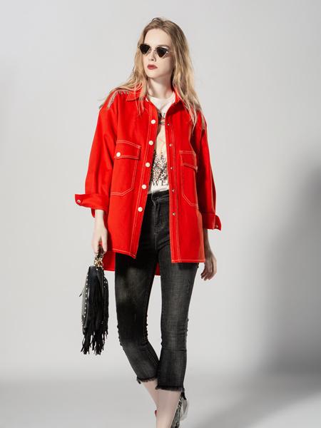 JA&EXUN女装品牌2019秋季新款韩版宽松休闲大码夹克薄款短外套
