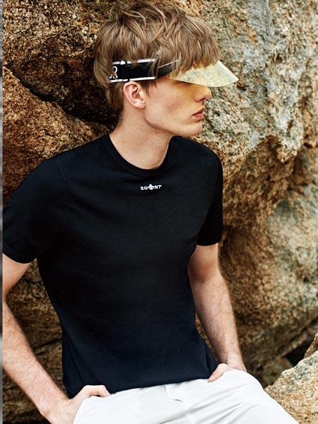 杰欧里顿男装品牌2019春夏新款纯棉体恤打底衫时尚简约百搭字母短袖T恤