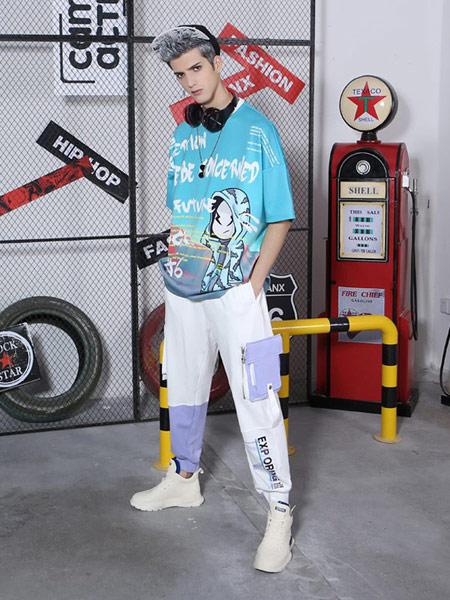 闪电潮牌 - FRAGMENT DESIGN男装品牌2019春夏新款T恤潮短袖ins风个性青年百塔欧美风潮