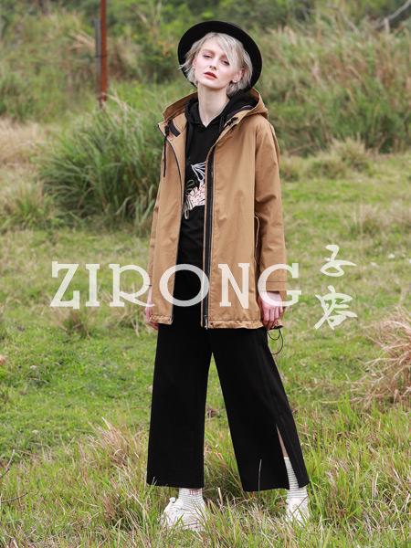子容女装品牌2019秋季新款韩版时尚洋气休闲百搭外套
