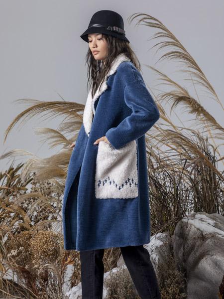 弗蔻Fu Kou女装品牌2019秋季新款宽松气质中长款时尚百搭外套