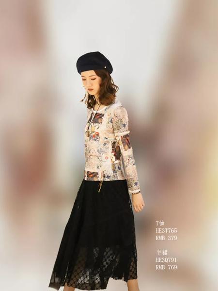 禾佃女装品牌2019秋季新款气质修身显瘦纯棉百搭休闲套装