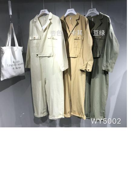 【批发】本色A8原创棉麻服装批发WY5002上衣连衣裙品牌店铺展示