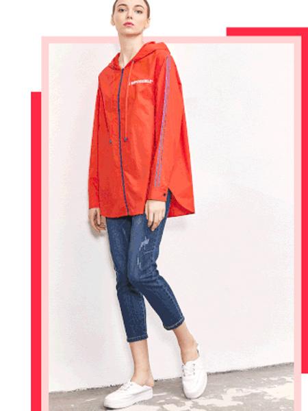 水淼SHUIMIAO女装品牌2019秋季新款时尚休闲宽松百搭上衣