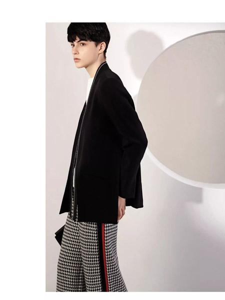 意澳女装品牌2019秋季新款时尚百搭简约外套