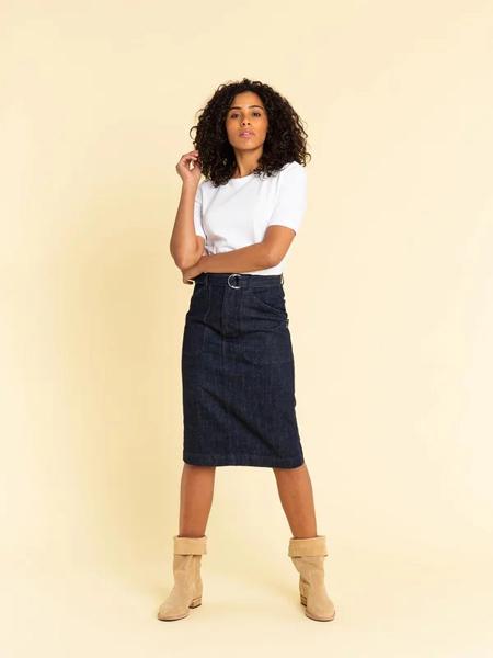 AGNES B.(阿涅斯)女装品牌2019春夏新款韩版显瘦一步裙中长款包臀裙