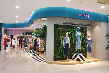 曼诺比菲品牌店铺展示