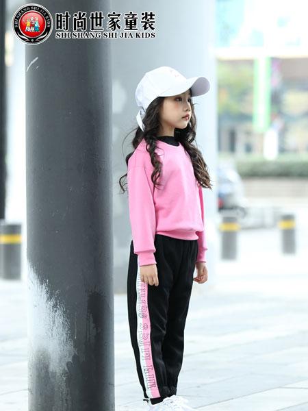 时尚世家童装品牌2019秋冬日系甜美加绒长袖套头上衣宽松