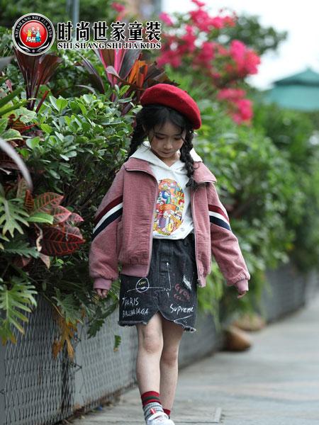 时尚世家童装品牌2019秋冬韩版开衫儿童中大童洋气夹克棒球服