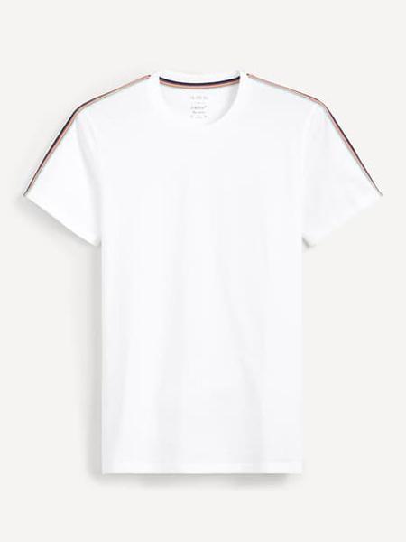 Celio男装品牌2019春夏新款韩版时尚宽松休闲简约百搭圆领短袖T恤