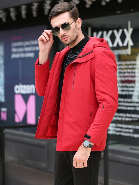 萨卡罗S.ALCAR男装品牌2019秋冬新款韩版潮流修身外套