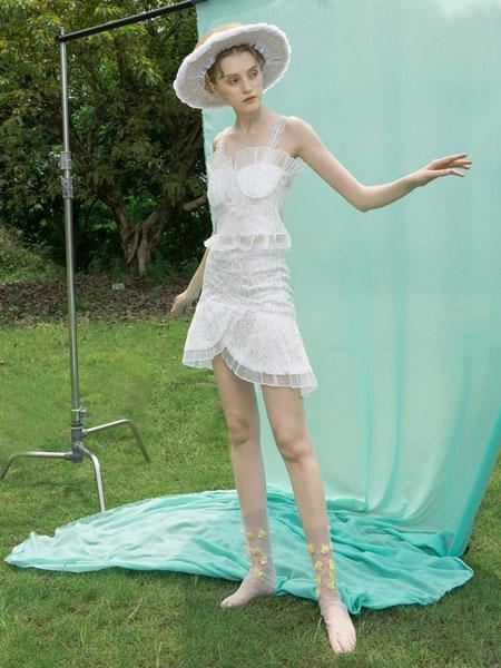 REDEFINE女装品牌2019春夏洋气时尚法式两件套装