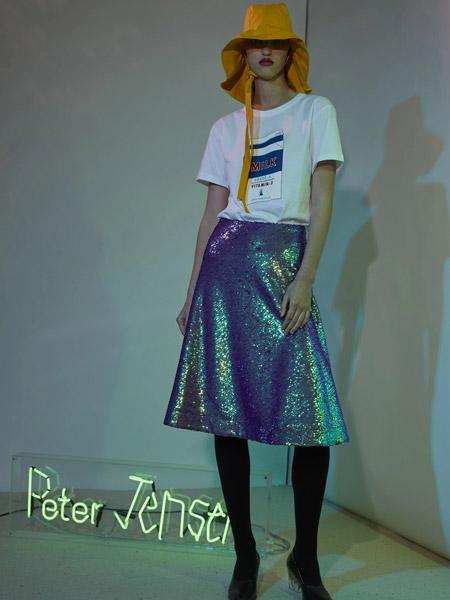 彼得・詹森女装品牌新款时尚韩版宽松洋气百搭短袖T恤