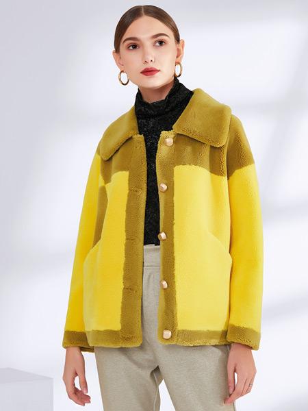 真斯贝尔女装品牌2019秋冬新款韩版时尚气质休闲外套
