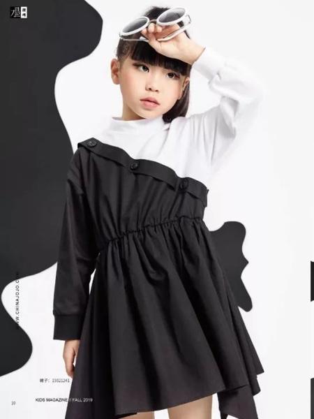 JOJO童装品牌2019秋季新款韩版洋气连衣裙
