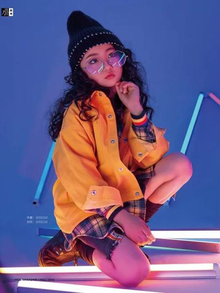 JOJO童装品牌2019秋季新款韩版休闲百搭宽松外套