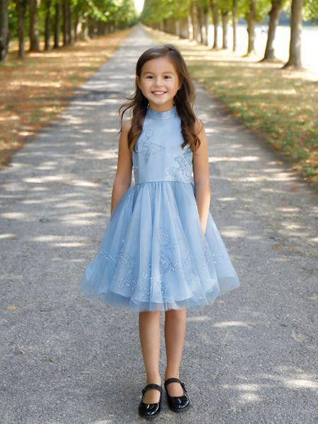 贝的屋童装品牌2019春夏提花日常改良旗袍款上衣