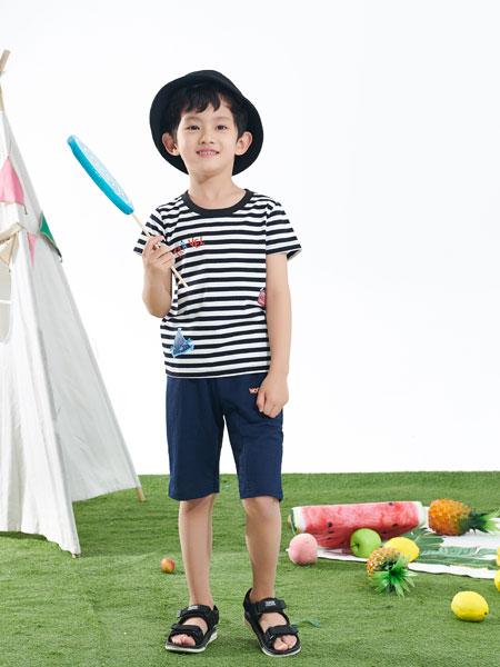 小红豆童装品牌2019春夏韩版宽松纯棉短袖T恤