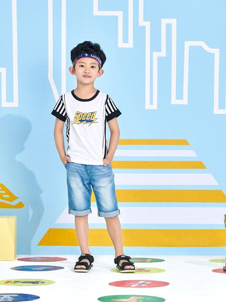 小红豆童装品牌2019春夏时尚韩版套装