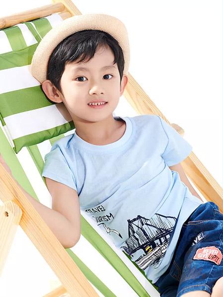 小红豆童装品牌2019春夏韩版纯棉短袖T恤