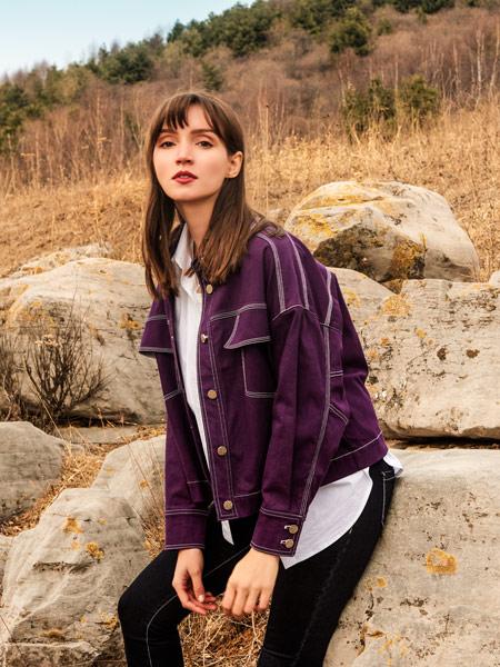 浩洋国际女装品牌2019秋冬新款韩版宽松百搭外套