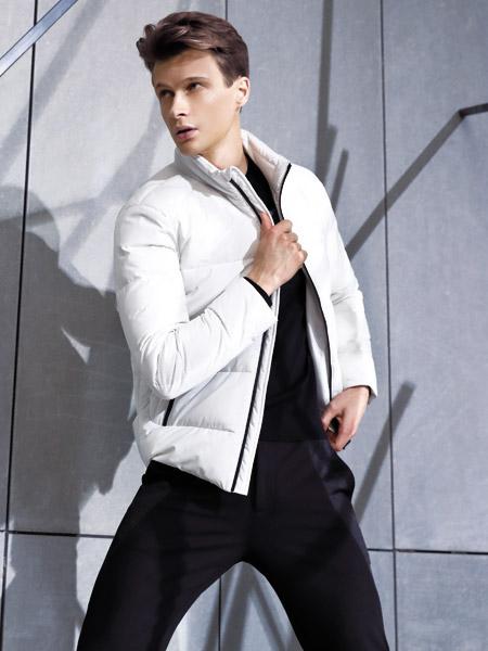 啄木鸟男装品牌2019秋季新款韩版潮流立领棉袄外套