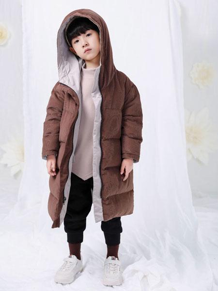 宠来宠趣童装品牌2019秋冬新款韩版宽松面包服外套