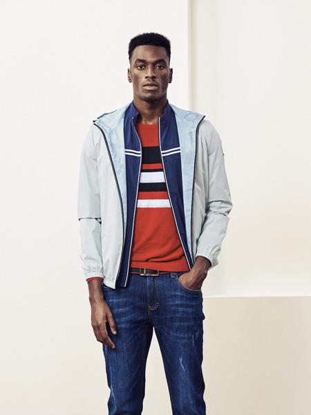 保罗·西蒙男装品牌2019秋季新款时尚商务休闲外套