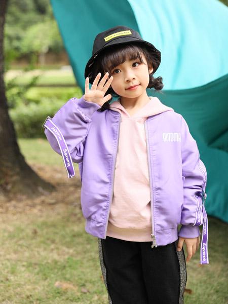 小猪宾果童装品牌2019秋季新款韩版洋气宽松休闲百搭外套