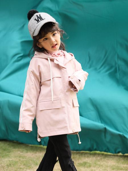 小猪宾果童装品牌2019秋季新款小清新韩版宽松休闲外套