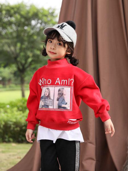小猪宾果童装品牌2019秋季新款韩版百搭气质休闲卫衣