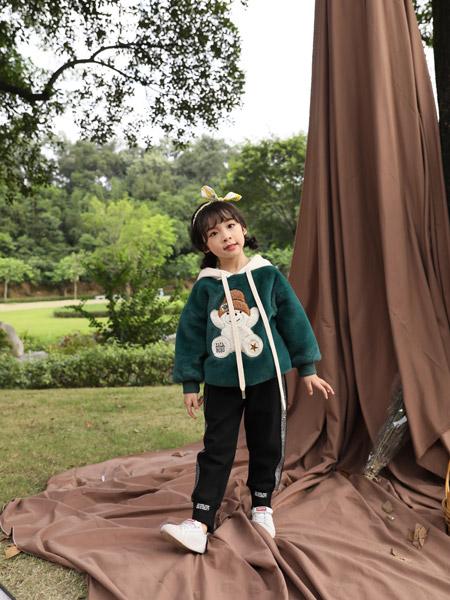小猪宾果童装品牌2019秋季新款韩版洋气卫衣