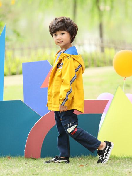 小猪宾果童装品牌2019秋季新款潮流时尚洋气百搭外套
