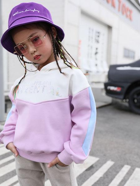 拉斐贝贝童装品牌2019秋季儿童洋气长袖休闲上衣潮