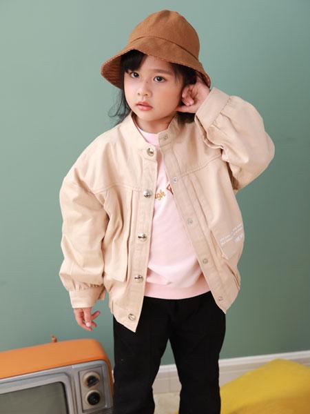 卡比优童装品牌2019秋季新款中童韩版时尚夹克