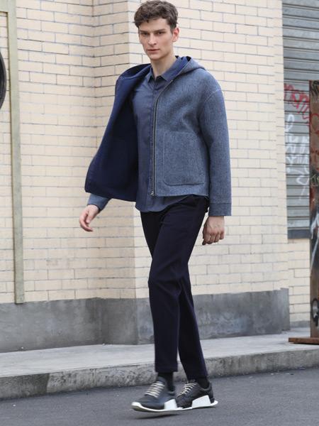 男眼女装品牌2019秋季新款棉质纯色休闲时尚修身短款外套